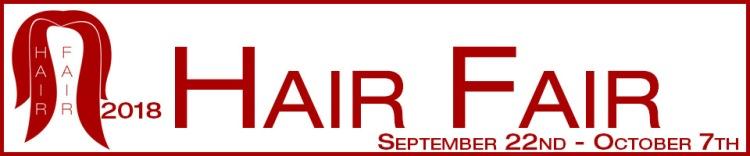Hair Fair 2018 Banner